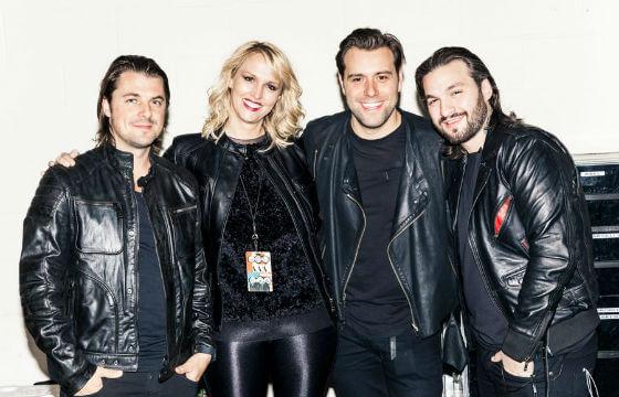 Amy Thomson anuncia su retiro del equipo de Swedish House Mafia