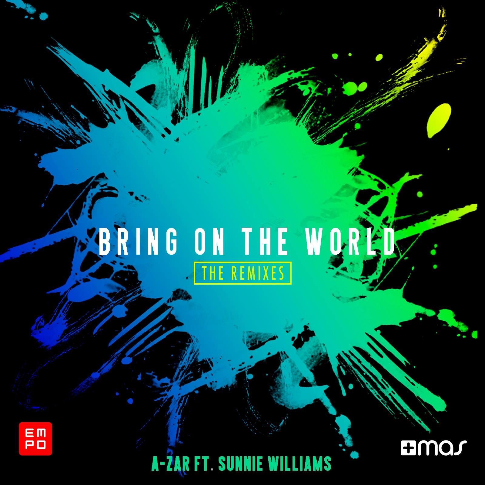 """Remixes ganadores de """"Bring on the World"""" de A-ZAR"""