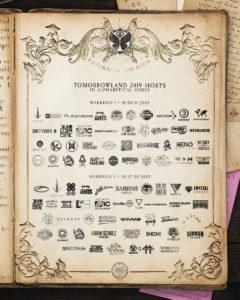 TOMORROWLAND 2019 lineup