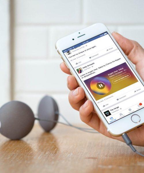 Ahora puedes agregar música a tu perfil en Facebook, ¡tal como en Myspace!
