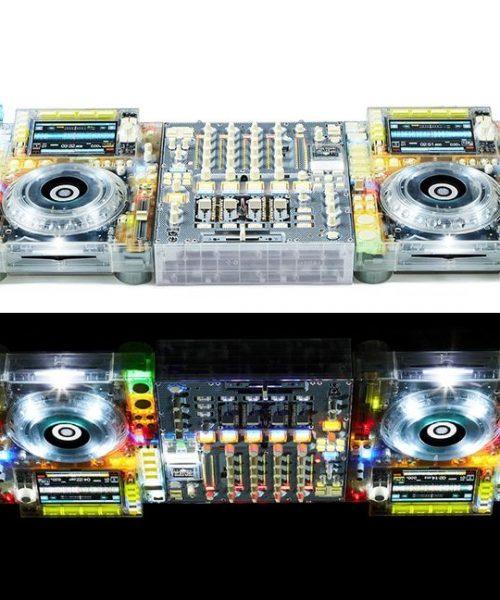 Conoce el CDJ transparente de Pioneer DJ, considerado una pieza de arte.